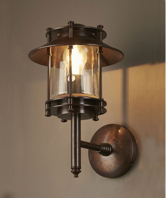 Turner Wall Lamp | Bronze - Magins Lighting Exterior Wall Lamps Emac & Lawton Magins Lighting