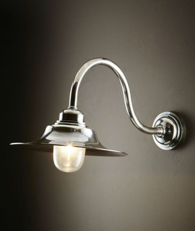 Victorian Wall Lamp | Aged Nickel - Magins Lighting Exterior Wall Lamps Emac & Lawton Magins Lighting
