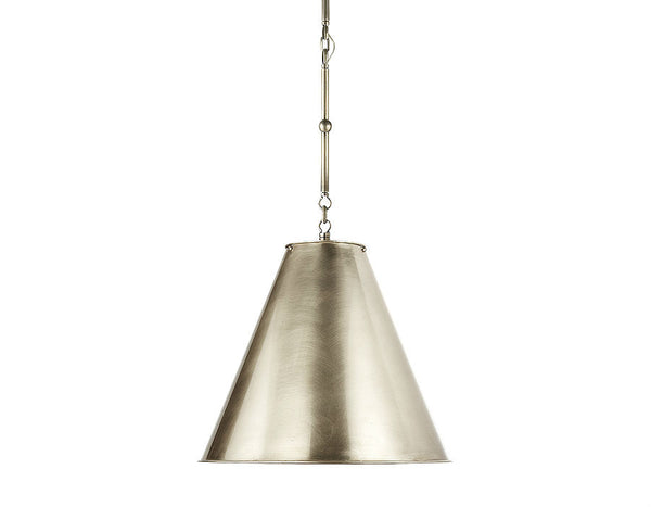 Goodman Small | Antique Nickel - Magins Lighting  Magins Lighting Magins Lighting