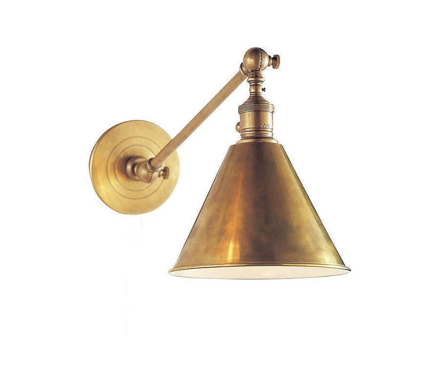Boston Library Lamp | Aged Brass - Magins Lighting  Magins Lighting Magins Lighting