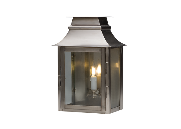 Hopkins | Nickel - Magins Lighting Exterior Wall Lamps Magins Lighting Magins Lighting