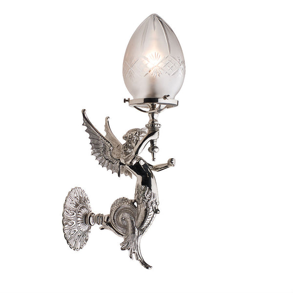 Winged Siren - Magins Lighting Wall Lamp Magins Lighting Magins Lighting