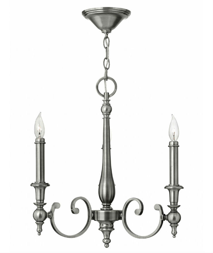 Yorktown 3 Light Chandelier - Magins Lighting Chandelier Elstead Lighting Magins Lighting