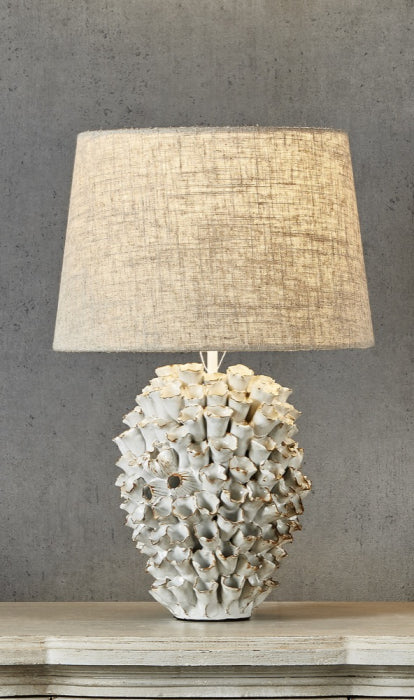 Londolozi Table Lamp W/Shade Cream - Magins Lighting Table Lamps Usually dispatches within 2-3 days. Please contact us to confirm prior to placing your order. Magins Lighting