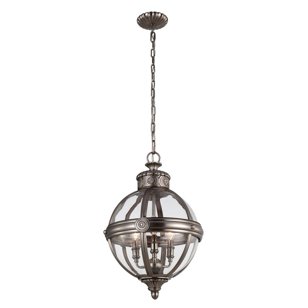 Adams Small | Antique Nickel - Magins Lighting  Magins Lighting Magins Lighting