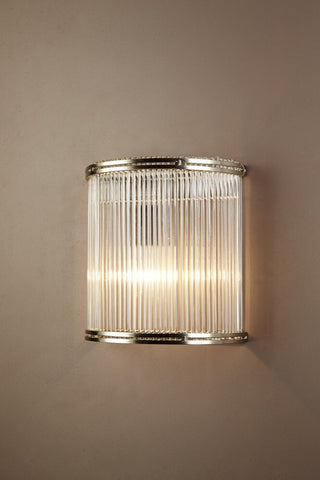 Verre Wall Sconce | Curved