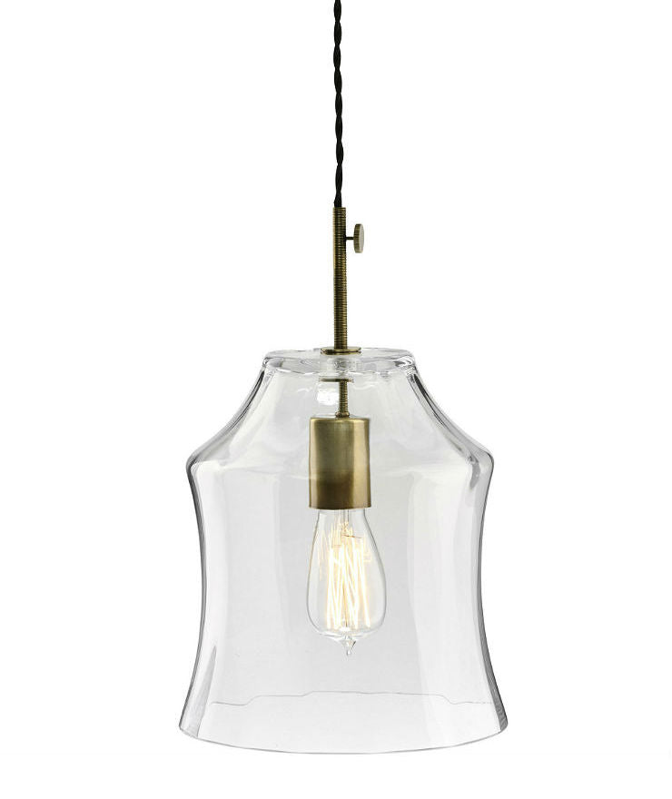 Tulip Pendant | Large - Magins Lighting Glass Pendant Lead Time: 1 - 2 Weeks Magins Lighting