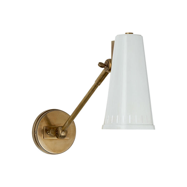 Antonio Aged Brass | White - Magins Lighting  Magins Lighting Magins Lighting