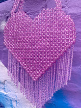 Load image into Gallery viewer, QUEEN OF HEARTS LILAC BAG