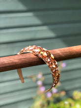Load image into Gallery viewer, ROSE GOLD RHINESTONE HEADBAND