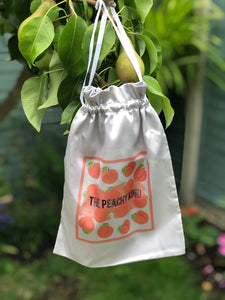 THE PEACHY KIND SATIN BAG