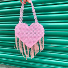 Load image into Gallery viewer, QUEEN OF HEARTS BABY PINK BAG
