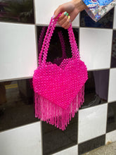 Load image into Gallery viewer, QUEEN OF HEARTS HOT PINK BAG