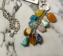 Load image into Gallery viewer, ONE OF A KIND CLUSTER NECKLACE