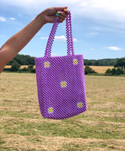 Load image into Gallery viewer, LILAC DAISY BAG