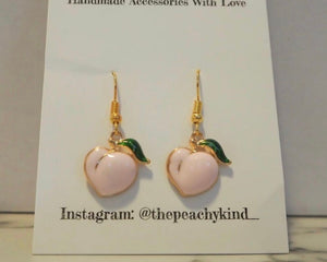 THE PEACHY KIND ORIGINAL EARRINGS