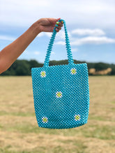Load image into Gallery viewer, BLUE DAISY BAG