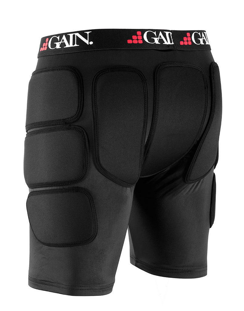 GAIN PROTECTION THE SLEEPER HIP/BUM PROTECTORS - BLACK
