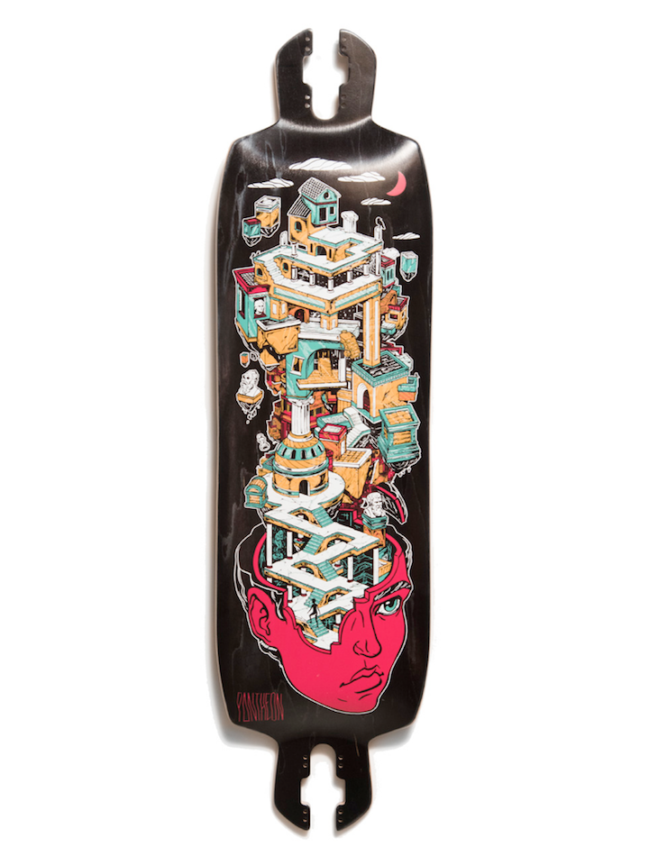 PANTHEON NEXUS 2020 LONGBOARD DECK