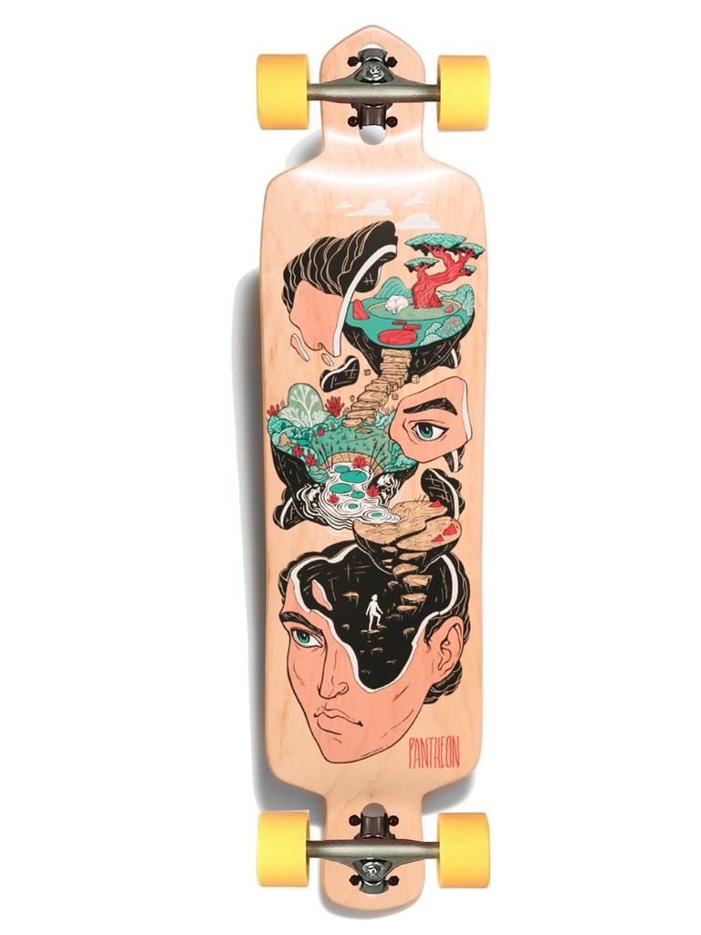Pantheon Quest Complete Longboard, ThaneLife Longboard Shop Singapore