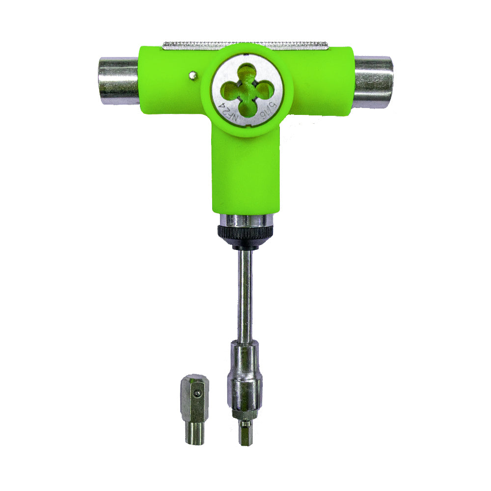 LONGBOARD RATCHET T-TOOL WITH RETHREADER