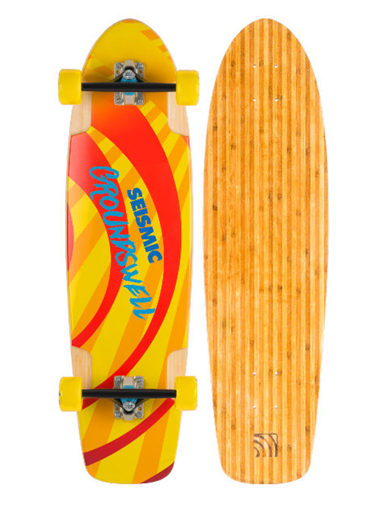 SEISMIC GROUNDSWELL COMPLETE CRUISER LONGBOARD