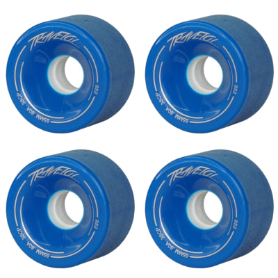 TRAVELOL LONGBOARD WHEELS 65MM - BLUE