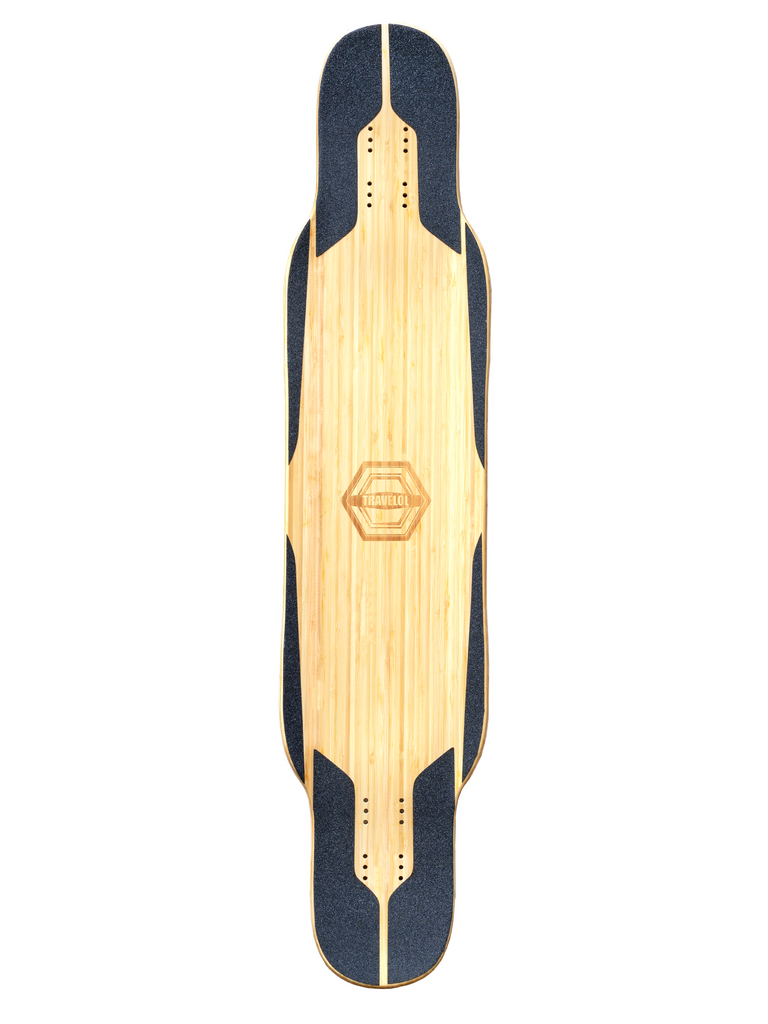 "TRAVELOL BUM SEOK 43.5"" PRO LONGBOARD DECK - WOOD"