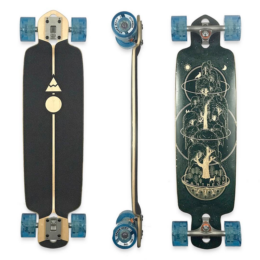 Pantheon Ember Cruiser Longboard, ThaneLife Longboard Shop