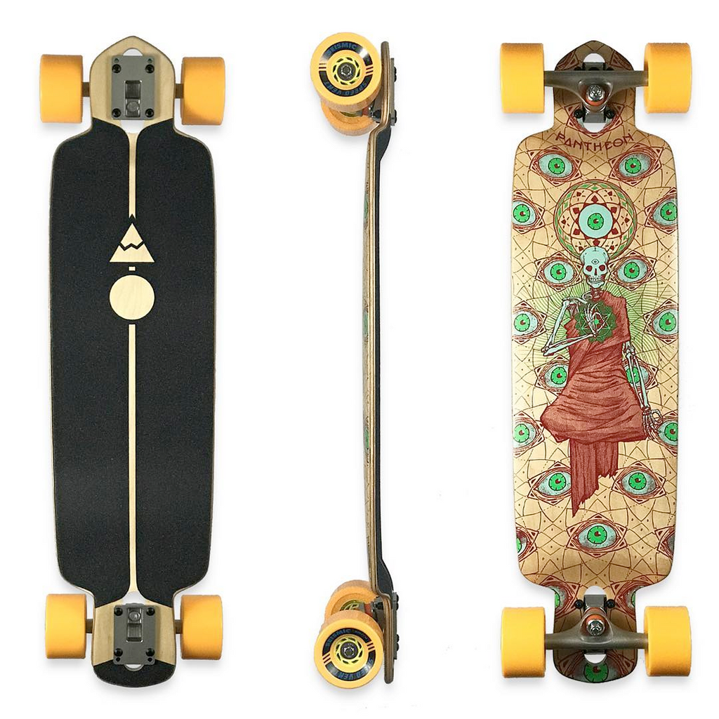 Pantheon Ember Complete Longboard, ThaneLife Longboard Shop Singapore