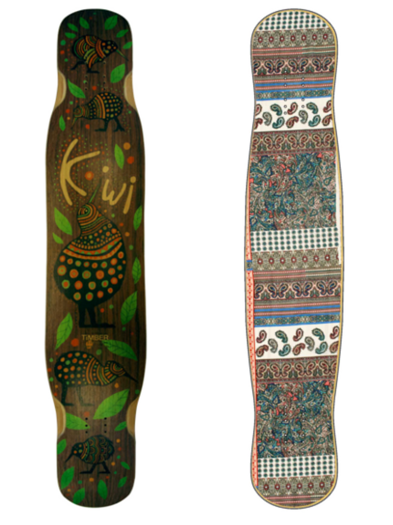 Timber Kiwi Dance Freestyle Longbaord Deck, ThaneLife Longboard Gear Shop