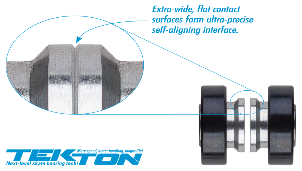 Seismic Ceramic Tekton Bearings for longboard, ThaneLife Skateboard Shop