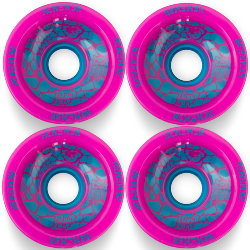 Remember Collective Savannah Slamma Longboard Skateboard Wheels