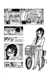 "Sample image 2 of my original manga ""She draws""(English)"