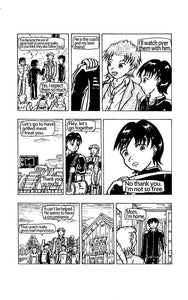 "Sample image 4 of my original manga ""A friend of the ace""(English)"