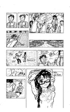 "Load image into Gallery viewer, Sample image 4 of my original manga ""She draws""(English)"