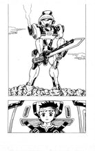 "Load image into Gallery viewer, Sample image 3 of my original manga ""FEGEAR"" 1st(English)"
