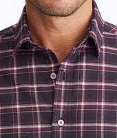 Wrinkle-Free Performance Flannel Benoit Shirt 4