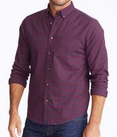 Wrinkle-Free Performance Flannel Leland Shirt 1