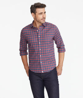 Wrinkle-Free Performance Flannel Shirt