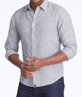 Wrinkle-Resistant Linen Strausse Shirt 1