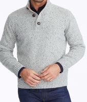 Button-Neck Donegal Sweater 5