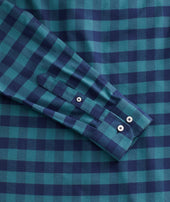 Heavyweight Wrinkle-Free Flannel Vigouroux Shirt Zoom