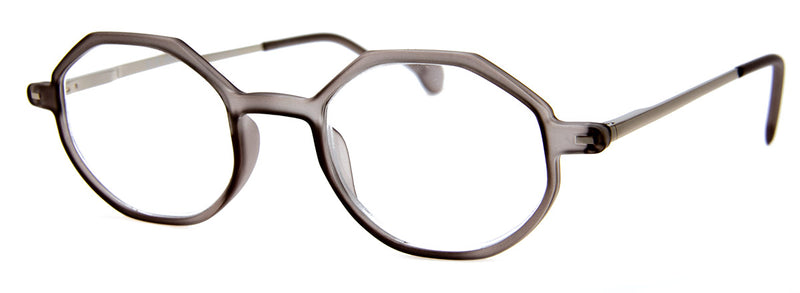 Grey - Hexagonal Reading Glasses for Men & Women
