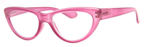 Purple - Cute Cat Eye Reading Glasses