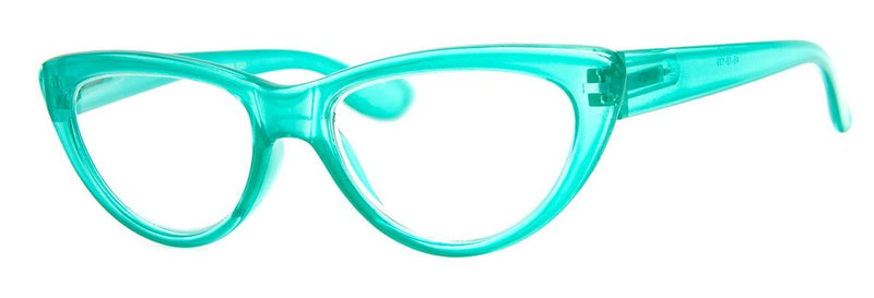 Teal – Cute, Designer Cat Eye Reading Glasses
