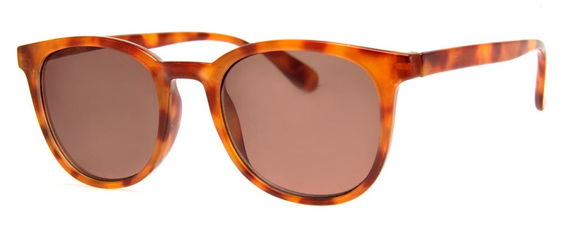 Rust Tortoise - Classic, Rectangular Sunglass Reader for Men & Women