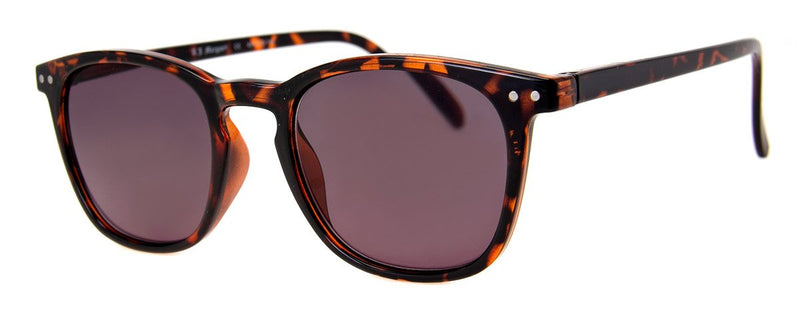Tortoise - Classic, Rectangular Sunglass Reader for Men & Women