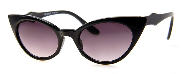 Black Funky and Hip Cat Eye Sunglasses