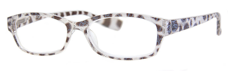 Grey - Cute Snake Skin Pattern Reading Glasses